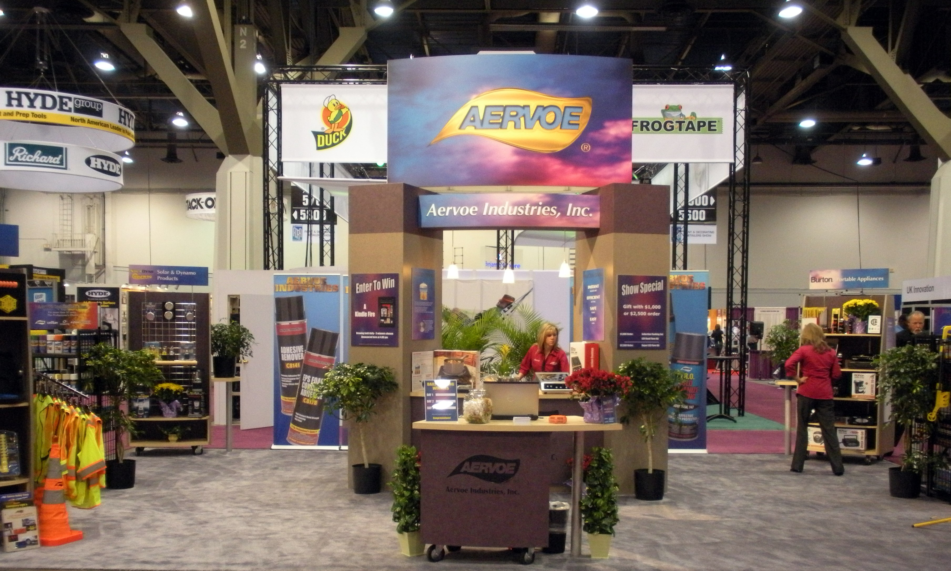 A-One AERVOE Booth