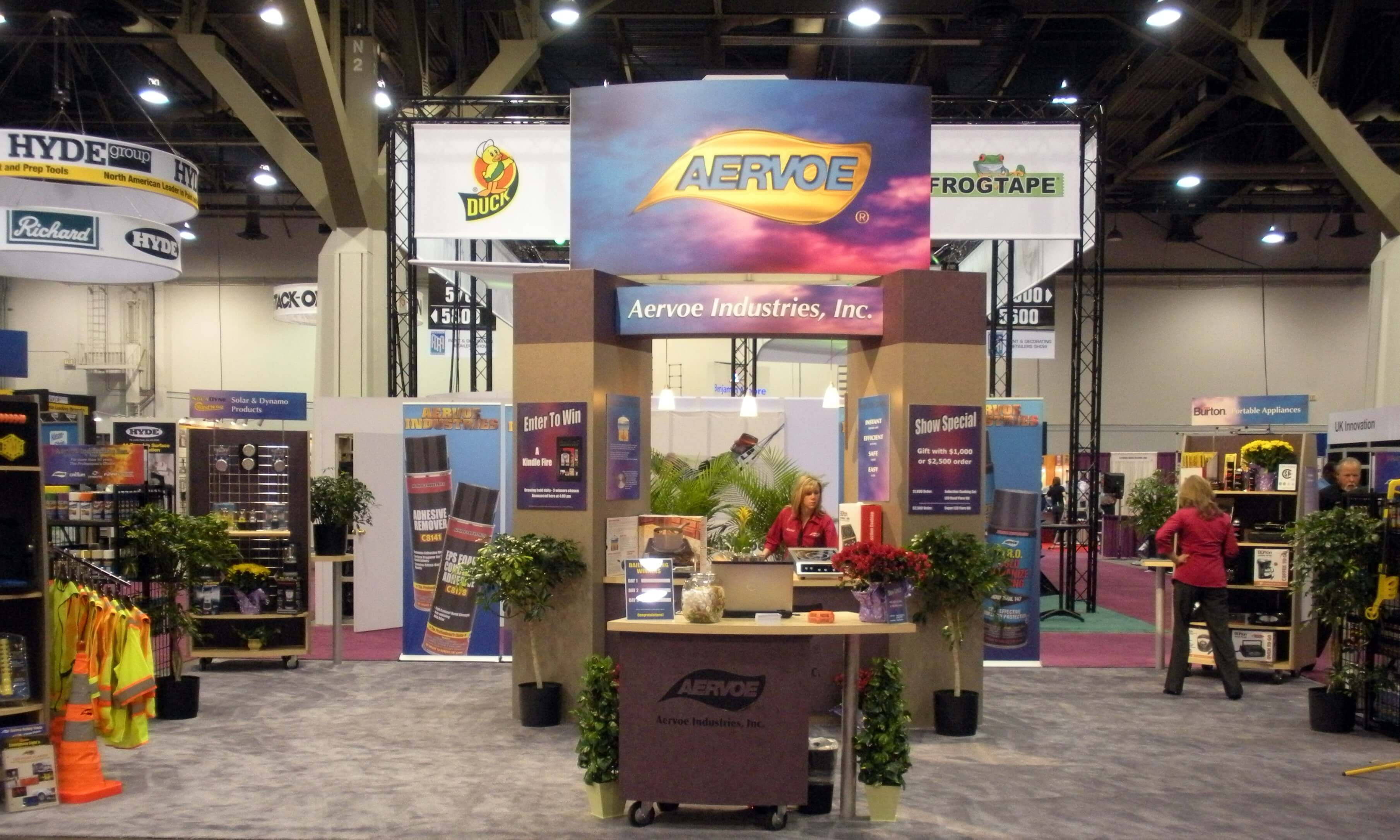 A-One Exhibits Custom Booth 6