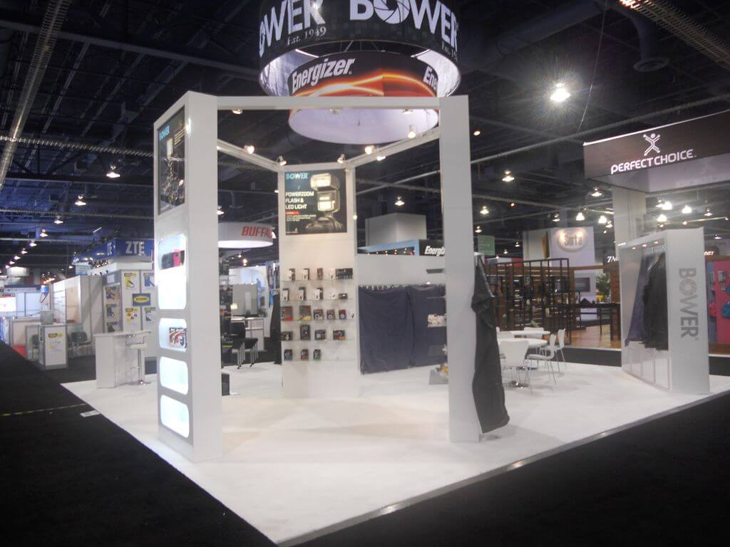 A-One Exhibits Custom Booth 4