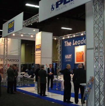 A-One Retrofitted Tradeshow booth