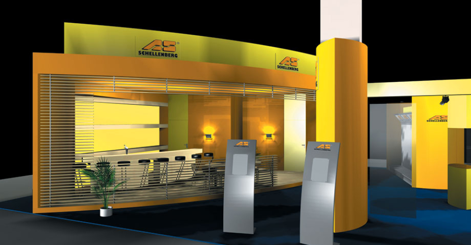 A-One Exhibits Portable and Modular Displays
