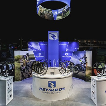 Tradeshow Booth With Custom Display